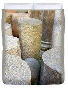 Half Pillars Duvet Cover
