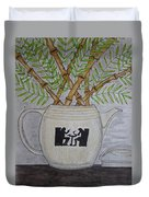 Hall China Silhouette Pitcher With Bamboo Duvet Cover