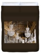 Hall Of Mirrors Palace Of Versailles France Duvet Cover