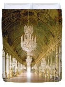 Hall Of Mirrors  The Galerie Des Glaces Duvet Cover