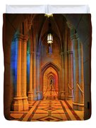 Hall Of The Cathedral Duvet Cover