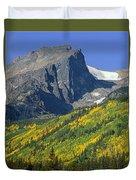 310221-v-hallet Peak In Autumn V  Duvet Cover