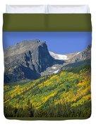 310221-hallett Peak In Autumn  Duvet Cover