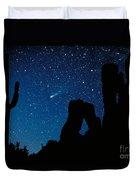 Halley's Comet Duvet Cover