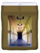 Hallowed Halls Duvet Cover