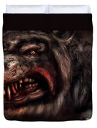 Halloween -  Mad Dog Duvet Cover