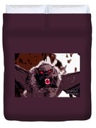 Halloween Bat Duvet Cover