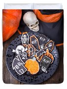 Halloween Cookies Duvet Cover