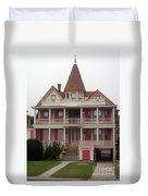 Halloween In Cape May Duvet Cover