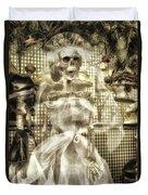 Halloween Mrs Bones The Bride Vertical Duvet Cover