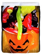 Halloween Party Details Duvet Cover