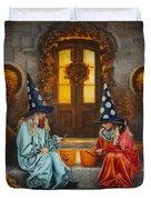 Halloween Sweetness Duvet Cover by Greg Olsen