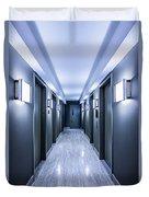 Halls Of Mystery Duvet Cover