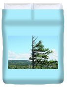 Halved Pine Duvet Cover