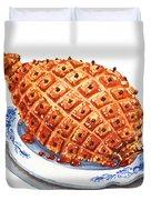 Ham On The Plate Duvet Cover
