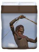 Hamer Tribe Woman, Ethiopia  Duvet Cover
