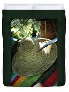 Hammock Greetings Duvet Cover