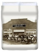 Hammond Implement Company Farm Machinery 1924 Duvet Cover
