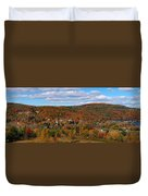 Hammondsport Panorama Duvet Cover