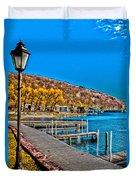 Hammondsport Waterfront Duvet Cover