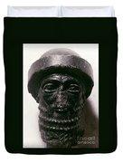 Hammurabi (d. 1750 B.c.) Duvet Cover