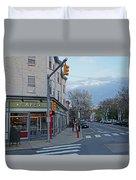 Hampshire Cafe Hampshire Street Cambridge Ma Duvet Cover