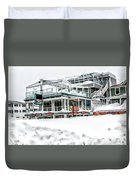 Hampton Beach 2015 Duvet Cover
