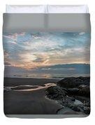 Hampton Beach State Park Duvet Cover