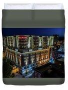 Hampton Inn Downtown Duvet Cover