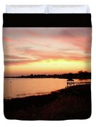 Hampton Virginia Sunset Duvet Cover