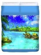 Hana Maui Duvet Cover