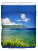 Hanalei Bay And Bali Hai Duvet Cover