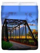 Hanalei Bridge Duvet Cover
