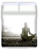 Hanalei Meditation Duvet Cover