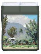 Hanalei Tower Duvet Cover