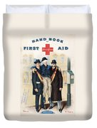 Handbook: First Aid Duvet Cover