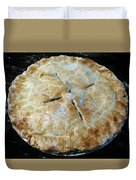 Handcrafted Apple Pie Duvet Cover
