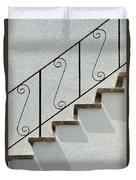 Handrail And Steps 1 Duvet Cover