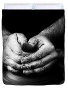 Hands That Form Duvet Cover