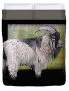 Handsome Pygmy Goat Duvet Cover