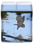 Hang Gliding Duvet Cover by Skye Ryan-Evans