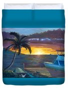 Hang Loose Harbor Duvet Cover