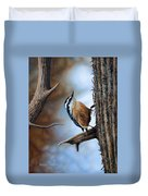 Hangin Out - Nuthatch Duvet Cover