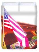 Hanging Beauty 3 Duvet Cover