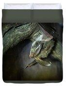 Hanging Big Eared Bat Duvet Cover