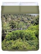 Hanging Bridge At Nesher Park Duvet Cover