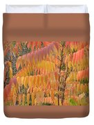Hanging Fire Duvet Cover