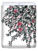 Hanging Leaves IIi Duvet Cover