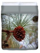Hanging  Pine Cone Duvet Cover