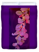 Hanging Purple Duvet Cover